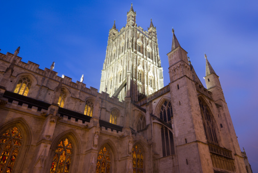 Gloucestershire「Gloucester Cathedral in Gloucestershire, England」:スマホ壁紙(18)
