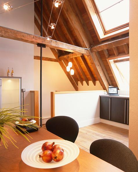 Loft Apartment「Private home, interior of a modern house.」:写真・画像(5)[壁紙.com]