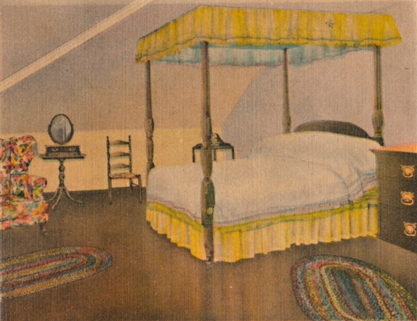 Bedroom「Mrs Washingtons Bedroom 1」:写真・画像(3)[壁紙.com]