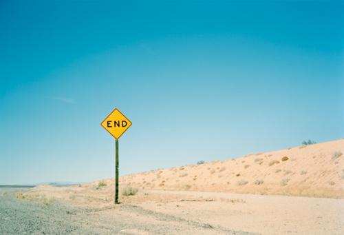 Dirt Road「End Sign」:スマホ壁紙(13)