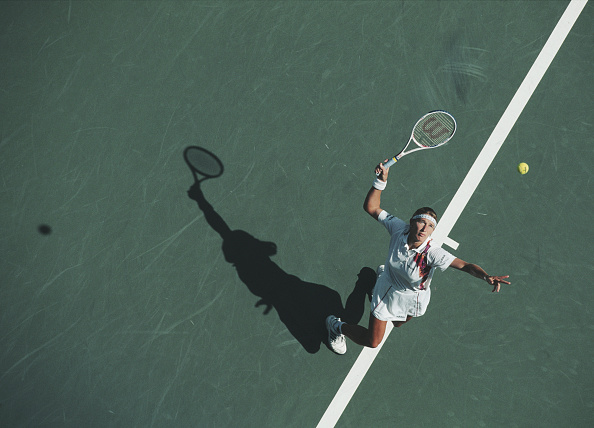 High Angle View「United States Open Tennis Championship」:写真・画像(17)[壁紙.com]