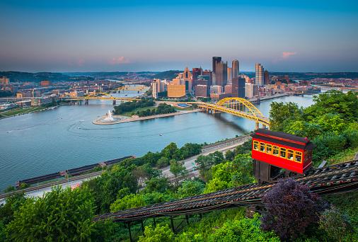 Gondola「Downtown Pittsburgh, Pennsylvania」:スマホ壁紙(14)