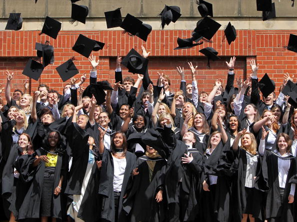 Throwing「University Of Birmingham Hold Degree Congregations」:写真・画像(3)[壁紙.com]