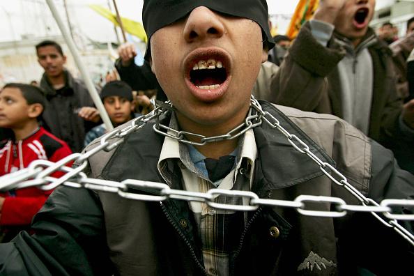 Boys「Palestinians Protest At Prisoners Held In Israeli Jails」:写真・画像(3)[壁紙.com]