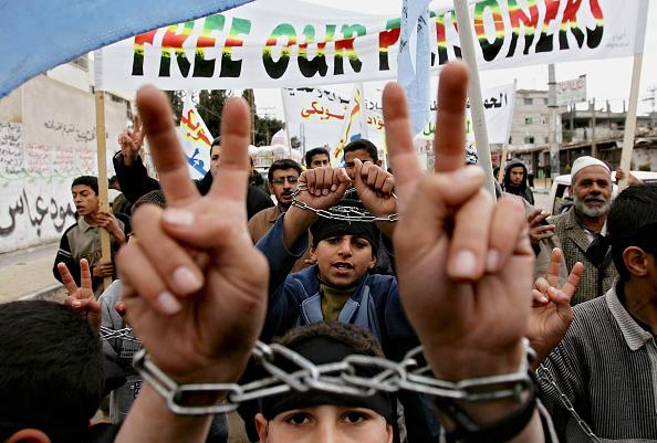 Mid Adult「Palestinians Protest At Prisoners Held In Israeli Jails」:写真・画像(11)[壁紙.com]