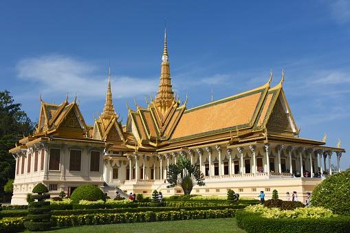 Cambodian Culture「Royal Palace Phnom Penh, Throne Hall, Cambodia」:スマホ壁紙(19)