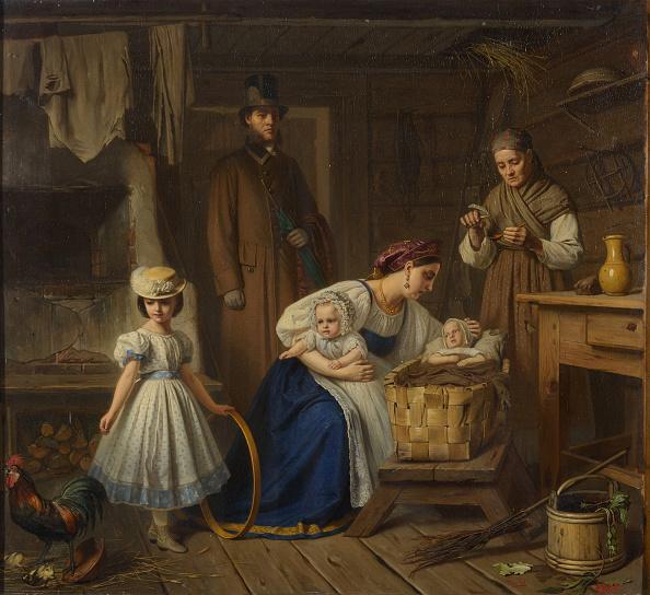 Wet「Wet Nurse Visited Her Sick Child 1860s」:写真・画像(2)[壁紙.com]
