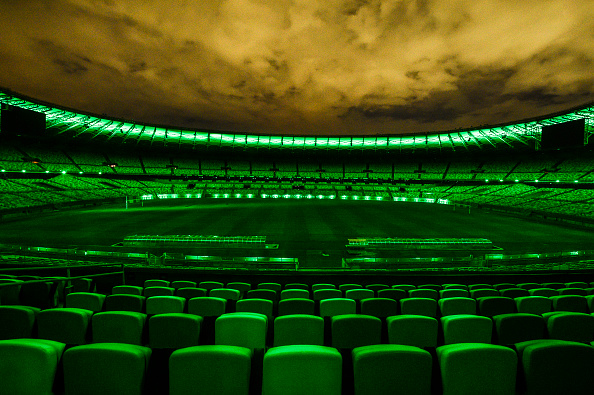 Stadium「Mineirao Stadium to be Lit Up in Green, the Color of Hope, as a Thank You to all Professionals Involved in the Effort to Minimize the Spread of the Coronoavirus (COVID-19) Pandemic」:写真・画像(1)[壁紙.com]