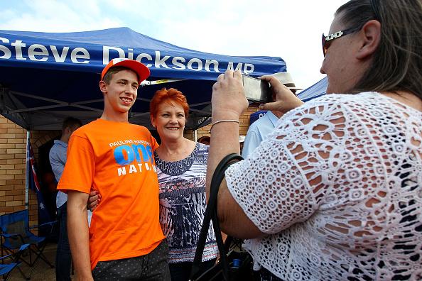 カメラ目線「Pauline Hanson Announces One Nation Firearms Policy」:写真・画像(5)[壁紙.com]