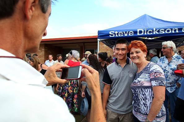 カメラ目線「Pauline Hanson Announces One Nation Firearms Policy」:写真・画像(7)[壁紙.com]