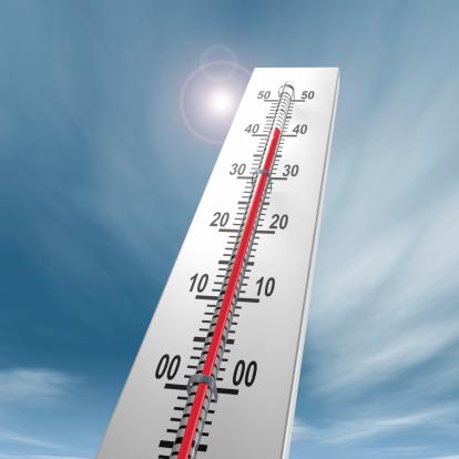 Heidelberg - Germany「Thermometer at 40 degrees Close-up」:スマホ壁紙(10)