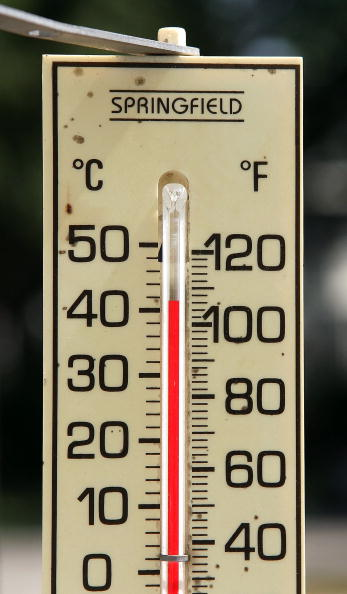 Thermometer「Heat Wave Scorches Much Of The U.S.」:写真・画像(5)[壁紙.com]