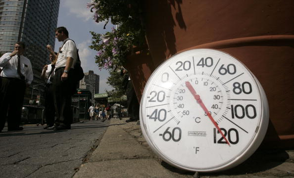 Thermometer「Heat Wave Grips New York」:写真・画像(1)[壁紙.com]