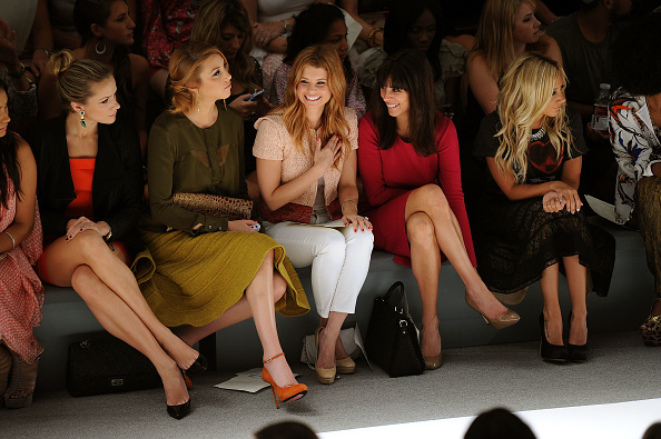 Spring Collection「Luca Luca - Front Row - Spring 2012 Mercedes-Benz Fashion Week」:写真・画像(18)[壁紙.com]