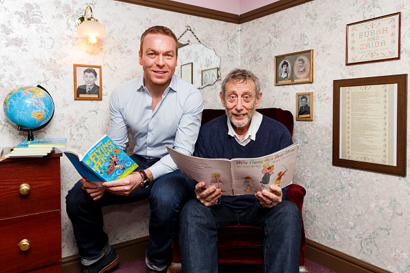 Tristan Fewings「Sir Chris Hoy And Michael Rosen Take Part In World Book Day」:写真・画像(12)[壁紙.com]