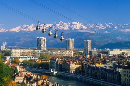 Gondola「Grenoble cable car」:スマホ壁紙(15)