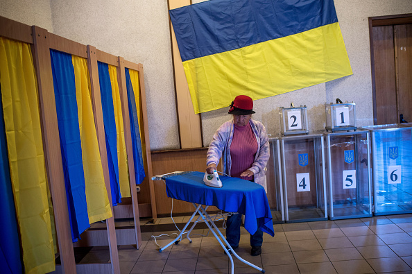 Ukraine「Ukrainians Prepare Go To the Polls In The Latest General Election」:写真・画像(18)[壁紙.com]