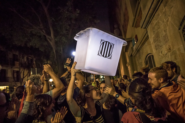 Catalonia「Independence Referendum Takes Place In Catalonia」:写真・画像(13)[壁紙.com]