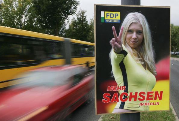 Saxony「Political Parties Campaign In Dresden」:写真・画像(17)[壁紙.com]