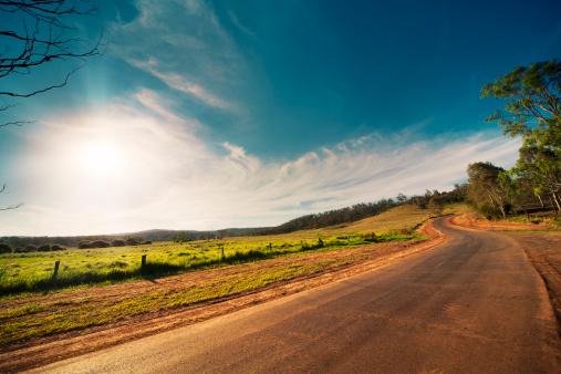 Queensland「Rural Road」:スマホ壁紙(17)