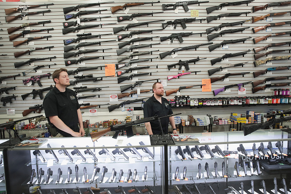Illinois「Activists Hold Protest At Rifle Manufacturer In Illinois」:写真・画像(11)[壁紙.com]
