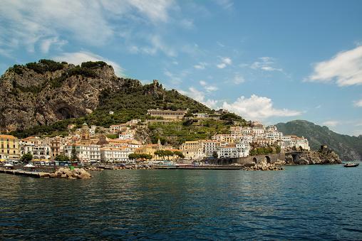 アマルフィ海岸「Amalfi coast, Campania, Italy」:スマホ壁紙(15)