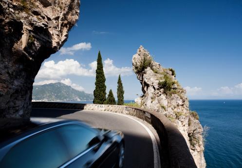 Amalfi Coast「Amalfi coast road」:スマホ壁紙(11)