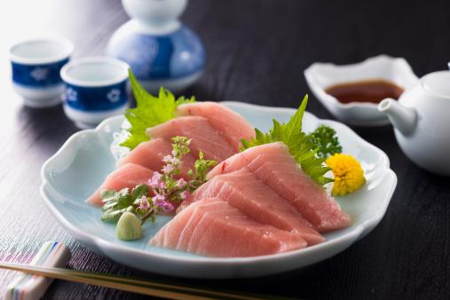 Sake「Medium Fatty Tuna Sashimi」:スマホ壁紙(1)