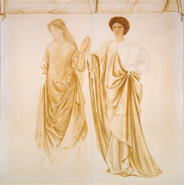 水彩画「The Two Wives Of Jason」:写真・画像(5)[壁紙.com]