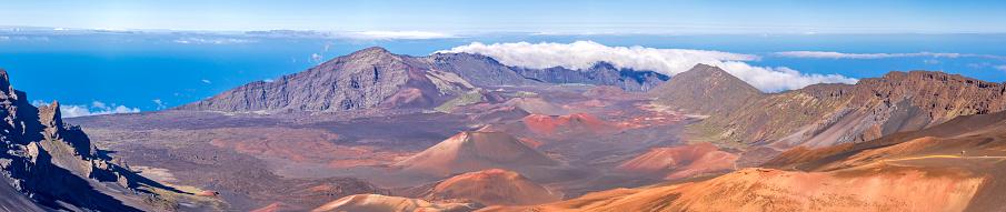 Haleakala National Park「Inside the Haleakala Peak Crater at Haleakala National Park」:スマホ壁紙(17)