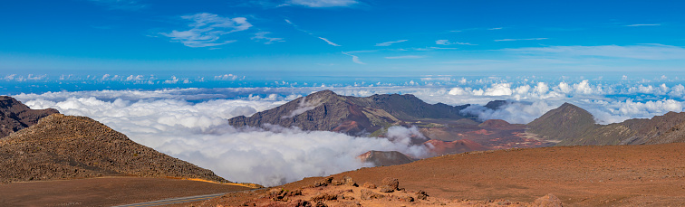 Pukalani「Inside the Haleakala Peak Crater at Haleakala National Park,Maui,Hawaii,USA」:スマホ壁紙(11)