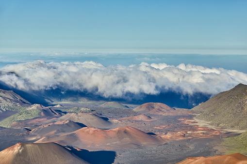 Haleakala Crater「Inside the Haleakala Peak Crater at Haleakala National Park,Maui,Hawaii,USA」:スマホ壁紙(15)