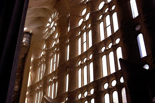 Sagrada Familia - Barcelona「Inside the Sagrada Familia Cathedral」:写真・画像(11)[壁紙.com]