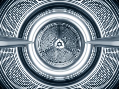 Metallic「Inside the steel drum of a washing machine」:スマホ壁紙(16)