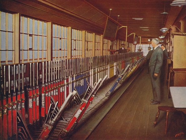 York - Yorkshire「Inside The Locomotive Yard Signal-Box」:写真・画像(9)[壁紙.com]