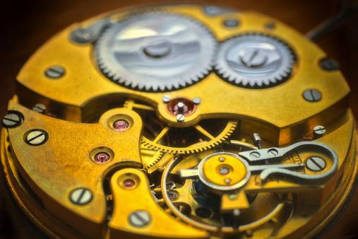 Machine Part「inside the golden clock」:スマホ壁紙(8)