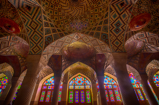Iranian Culture「Inside the Nasir ol Molk Mosque in Shiraz, Iran」:スマホ壁紙(8)