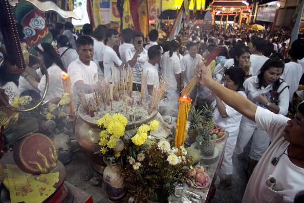 Place of Worship「Vegetarian Festival Held On Phuket Island」:写真・画像(15)[壁紙.com]
