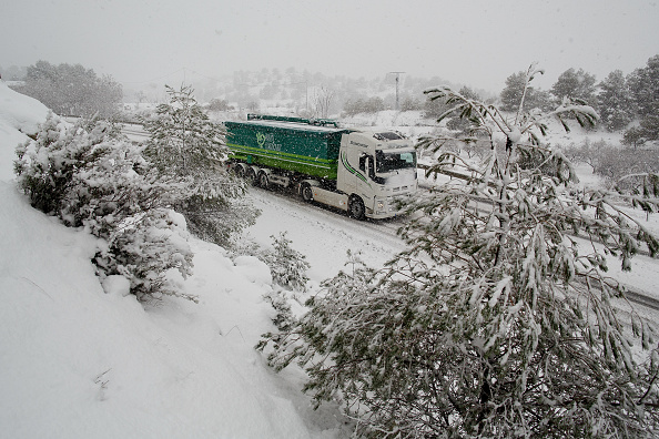 Truck「Increase In Vegetable Prices Due To Cold Weather Across Italy And Spain」:写真・画像(14)[壁紙.com]