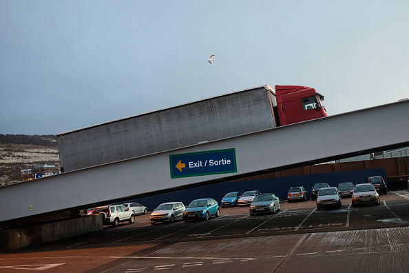 Calais「UK Haulage Firms Face Uncertain Future As Brexit Approaches」:写真・画像(7)[壁紙.com]