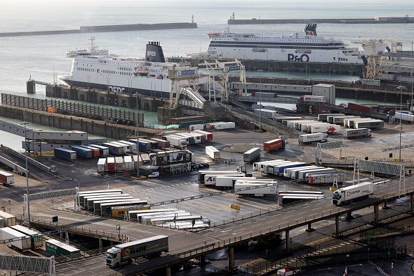 Passenger Craft「Travel To France Resumes As Lorry Drivers Receive Covid-19 Tests」:写真・画像(12)[壁紙.com]