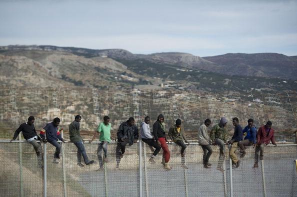 Effort「Migrants Seek Asylum In The Spanish Enclave Of Melilla In Northern Africa」:写真・画像(9)[壁紙.com]