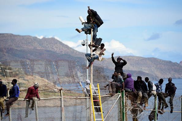 Effort「Migrants Seek Asylum In The Spanish Enclave Of Melilla In Northern Africa」:写真・画像(8)[壁紙.com]