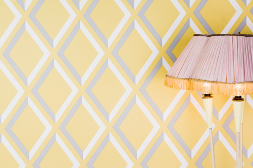 Lamp Shade「Pattern wallpaper and lampshade」:スマホ壁紙(5)