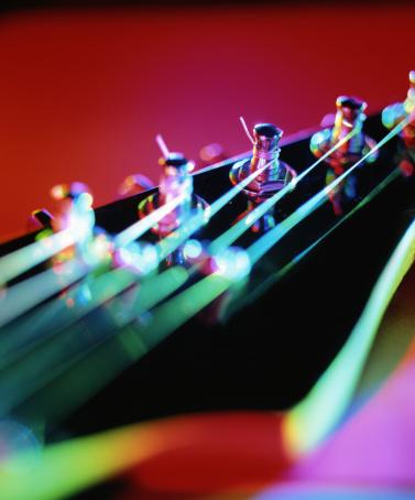 Rock Music「Guitar Strings」:スマホ壁紙(14)