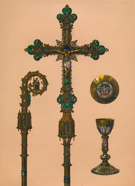 Crockery「Objects For Ecclesiastical Use By EC Trioullier Paris 1893」:写真・画像(19)[壁紙.com]