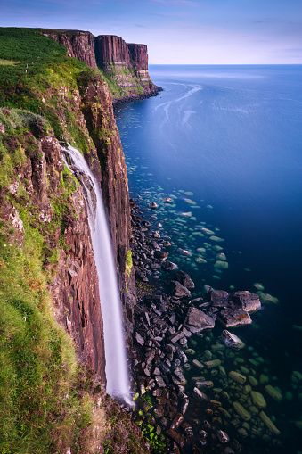 Isle of Skye「Mealt Waterfall on the Isle of Skye Coast / Scotland」:スマホ壁紙(12)
