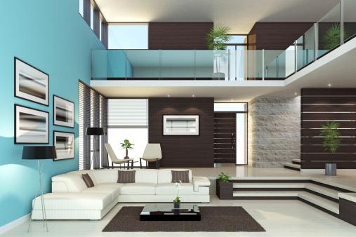 Home Interior「Luxury Interior Penthouse」:スマホ壁紙(9)