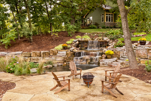 Stone House「Perfect Backyard Landscaping」:スマホ壁紙(13)