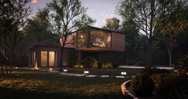 Modern Minimalist Family Villa:スマホ壁紙(壁紙.com)